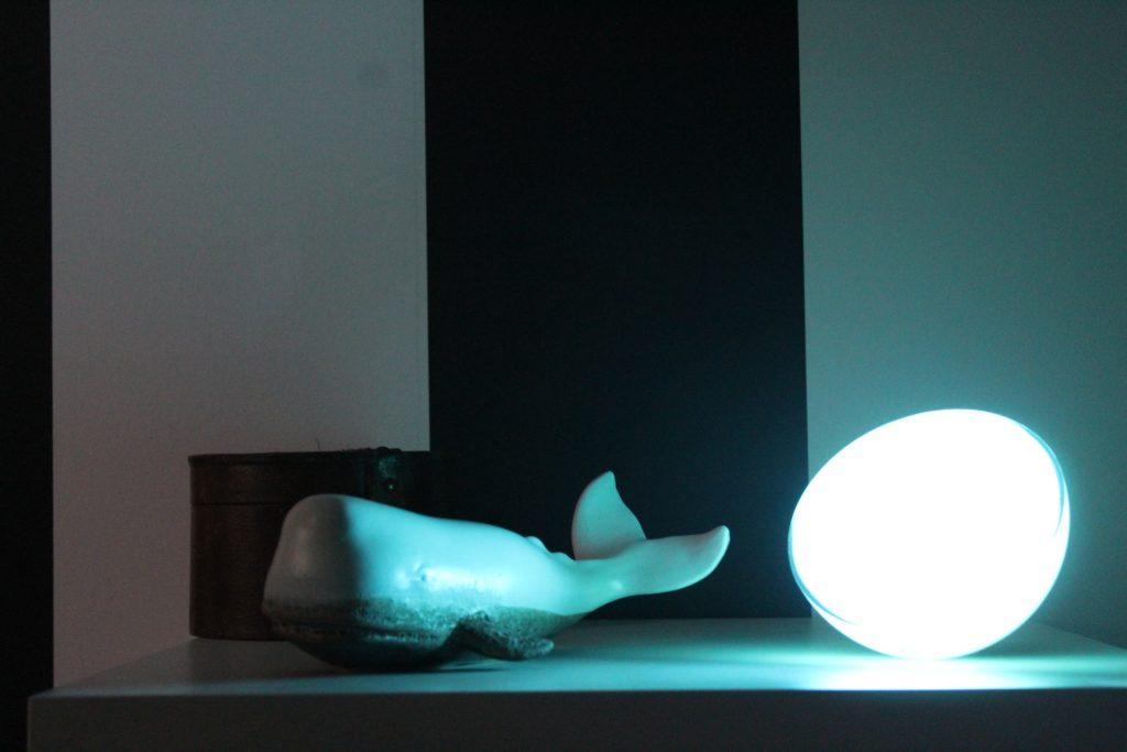 Philips Hue Go lichtstand meditation