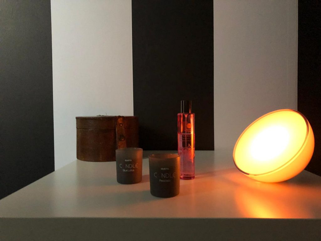Philips Hue Go lichtstand cozy candle